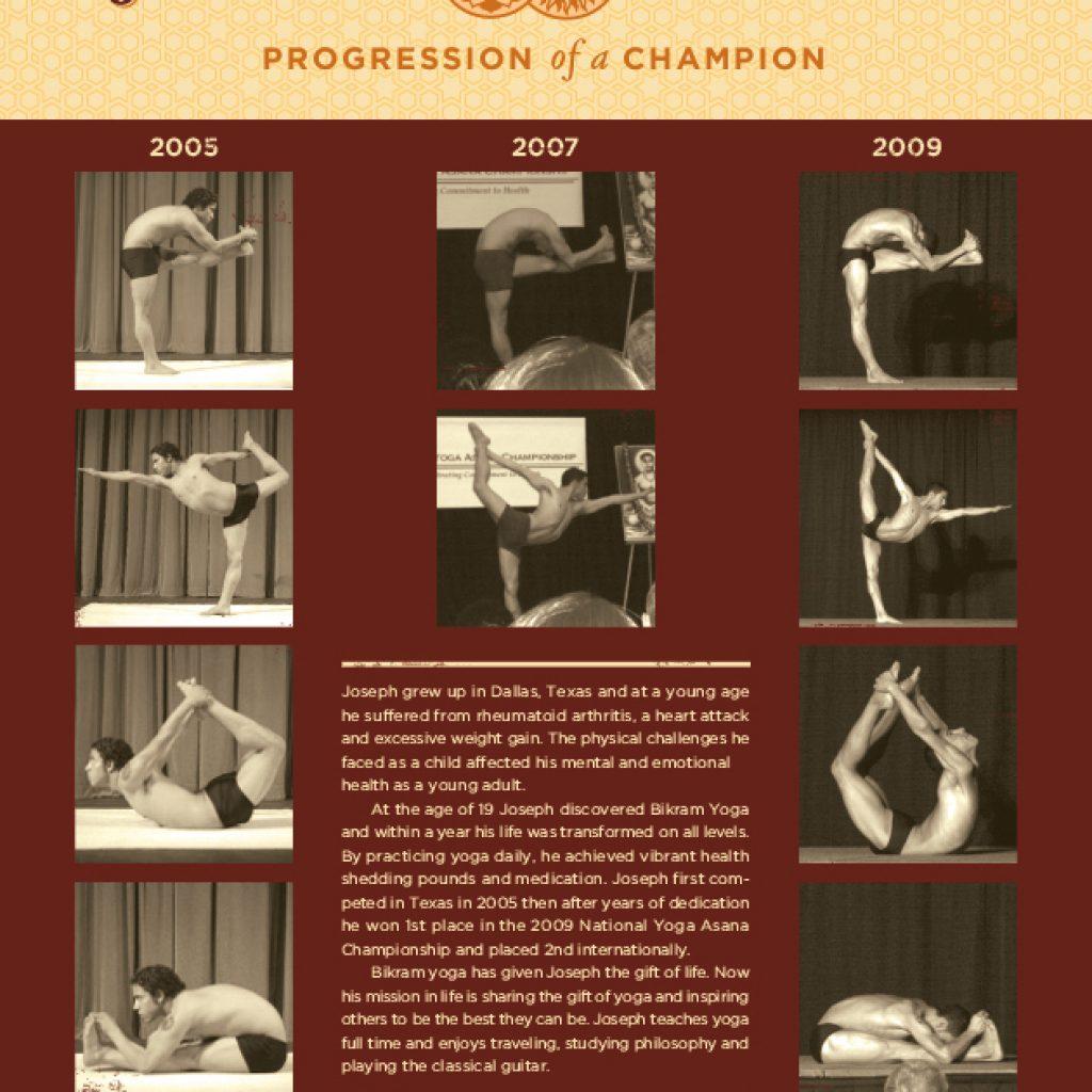 Progression of a Champion