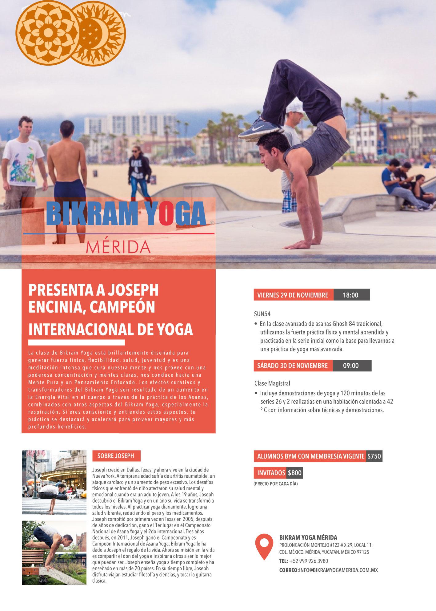 Mérida, Mexico | November 29th and 30th, 2020 | 26 & 2 Beginner & SUN54 Intermediate Series